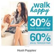 Descuentos en cada compra de calzado hush puppies sv