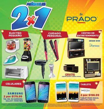 ELECTRODOMESTICOS al 2x1 en almacenes parado LOS MIERCOLES