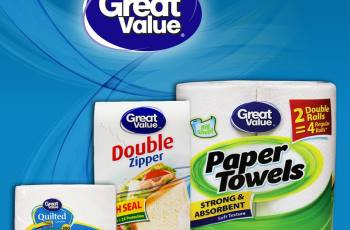 GREAT value bags paper aluminum foil and more