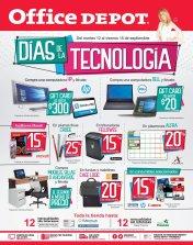 Office depot ofertas en los dias de tecnologia hasta 15 sep