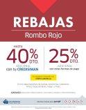 SIMAN finde de REBAJAS promocion roMBO roJO
