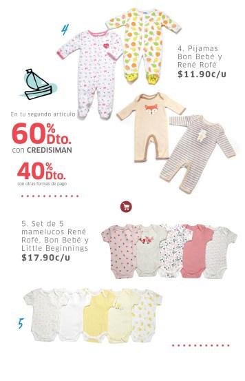 SIMAN pijamas para BEBES con descuento