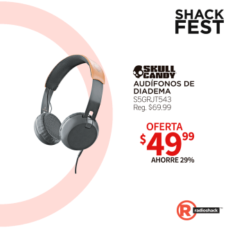 SKULL candy headphone disponibles en radio shack