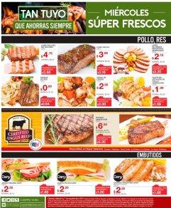 SUper selectos HOY miercoles super frescura de ofertas - 06sep17