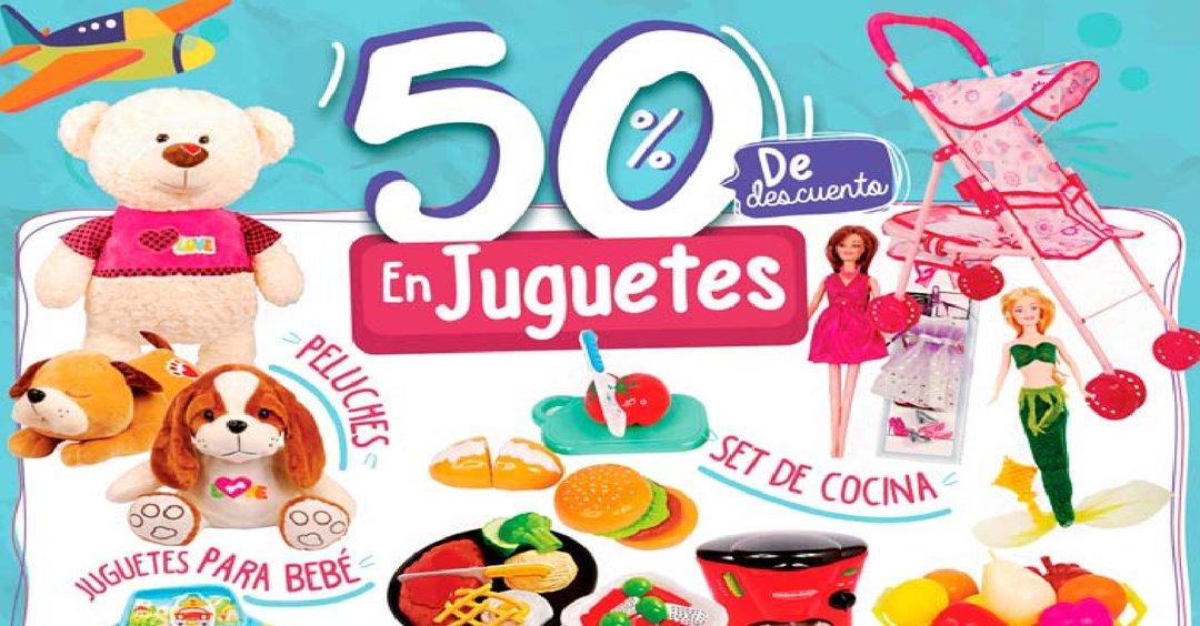 JUGUETES con 50% OFF en Tiendas Super Seelctos