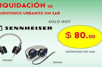 liquidacion de audifonos urbanite sennheiser