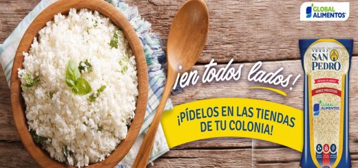 ARROZ san pedro disponible en todo el salvador