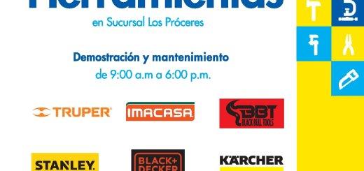 Feria de herramientas en fereterias epa el salvador - 13oct17