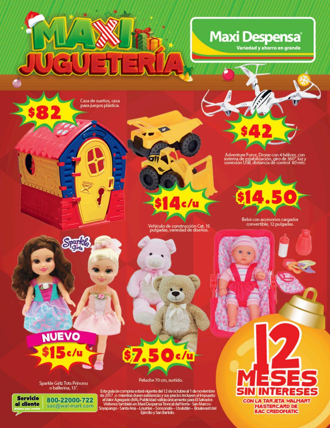 Los mejores juguetes en la guia de compra maxi despensa