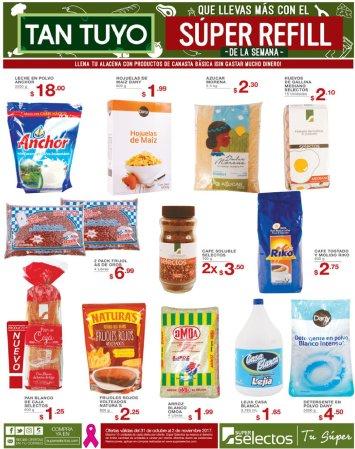 SUPER refill de la semana ofertas fin de mes selectos