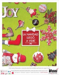 VIDRI Catalogo de prodcutos y adornos navideños 2017