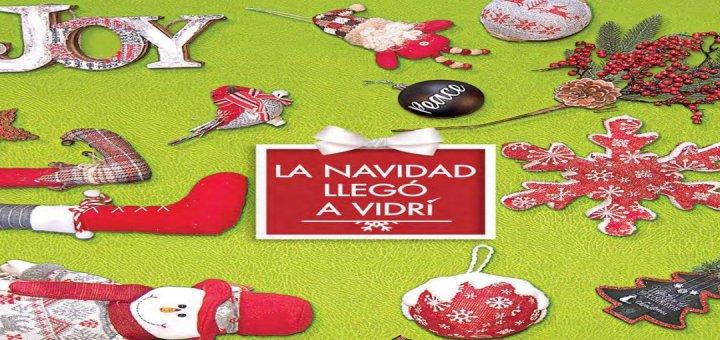 vidri folleto de ofertas de navidad 2017