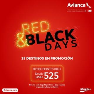 Black Friday 2017 AVIANCA boletos aereos