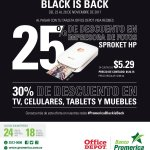Black Friday 2017 discount al pagar con tarjetas banco promerica