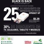 Black Friday 2017 discount al pagar con tarjetas banco promerica