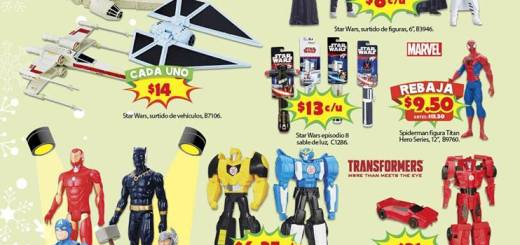 Coleccion de munequitos de star wars y los avengers
