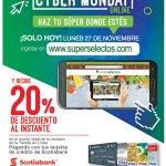 Ofertas Cyber Monday 2017 Super Selectos online