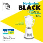 Ofertas en LICUADORA OSTER via EPA en la semana BLACK
