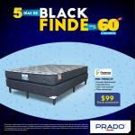 Prado Black finde camas facenco matrimonial 99 dolares