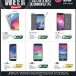 Todos los celulares LG con precios balck en omni