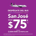 VOLARIS Compras vuelos baratos [ara centroamerica en linea