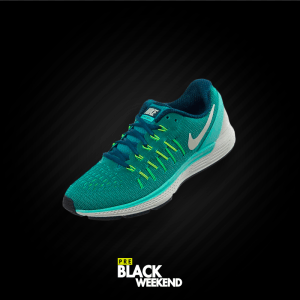 sportline america - tenis nike color azul - black weekend