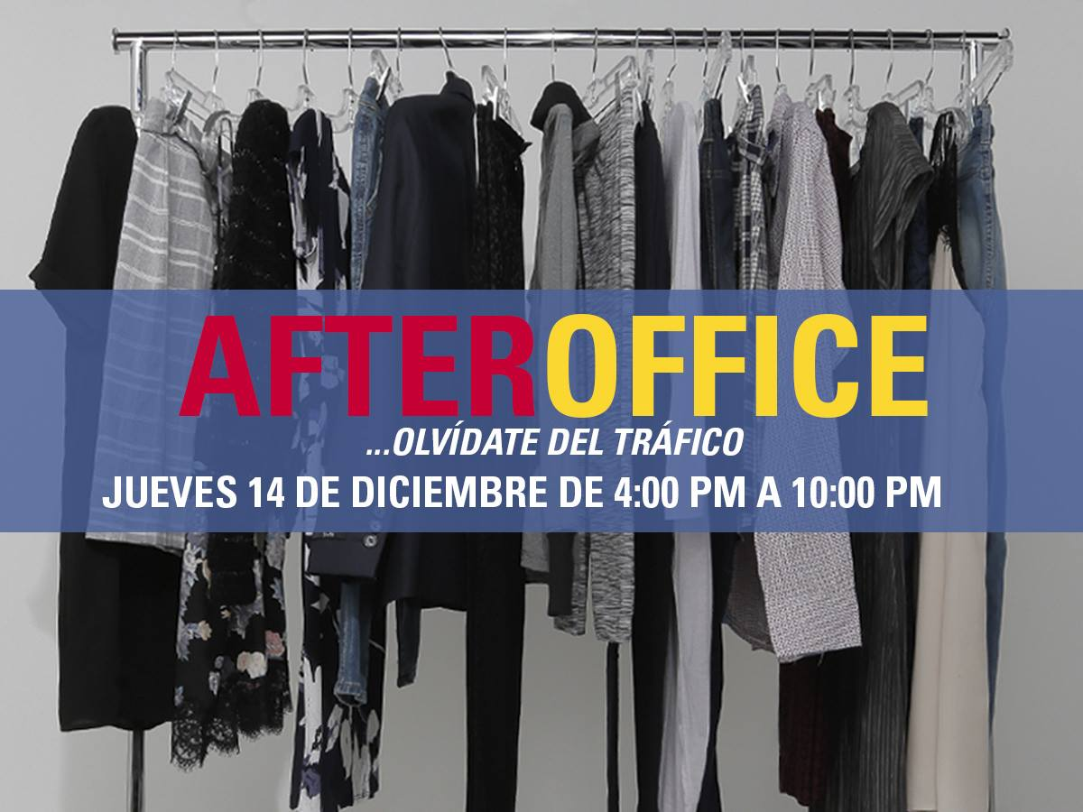 AFTER OFFICE shopping discount en Prisma Moda [14-dic-17]