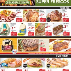 Diciembre compras frescas en super selectos - 06dic17