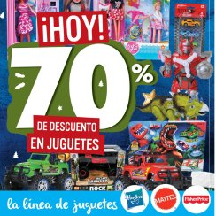 Hasta 70 OFF en juguetes seleccionados en tiendas super selectos