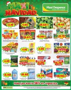 MAXI navidad ofertas y rebajas en super y juguetes 21dic17
