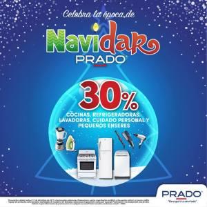 NAVIDAR 2017 de almacenes PRADO 30 off en electrodomesticos