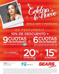 SEARS Descuentos for merry Christmas 2017