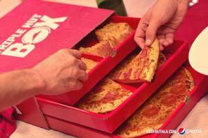 pizza hut PROMOCION navidad 2017 tripli huy BOX