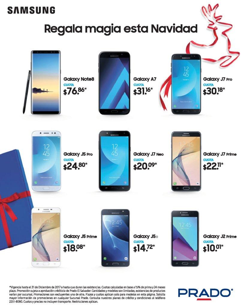 precios de los celulares samsung galaxy en almacenes prado