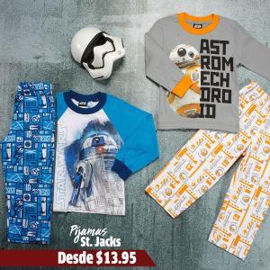 the last jedi pijamas movie wear
