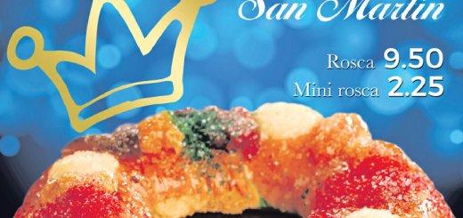 Disfruta de la Rosca de Reyes de Panaderia San martin