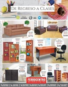 FERROCENTRO muebles libreas escritorios sillas para regresar a clases 2018
