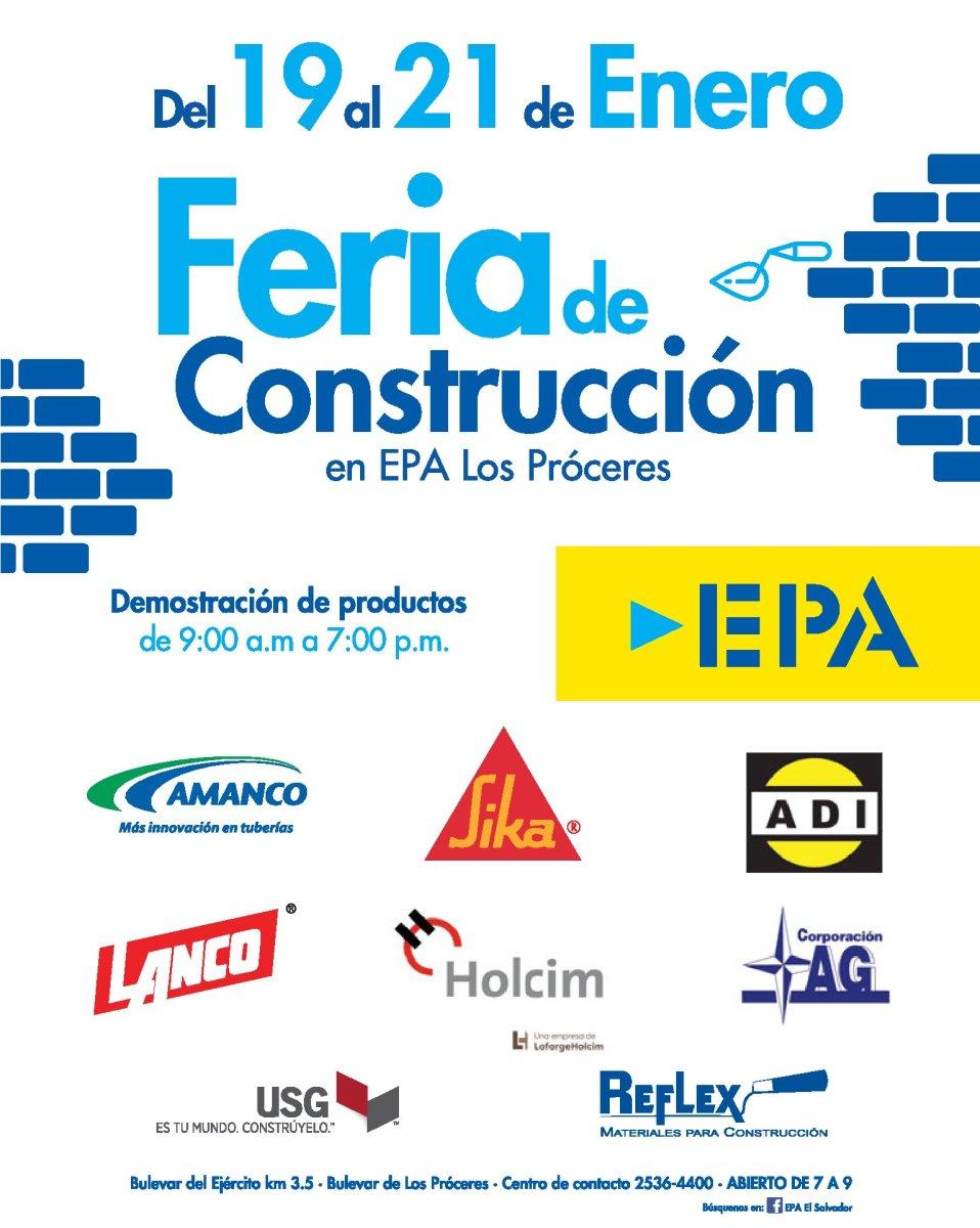 Feria de Construccion en Ferreteria EPA Enero 2018 [Fin de Semana]