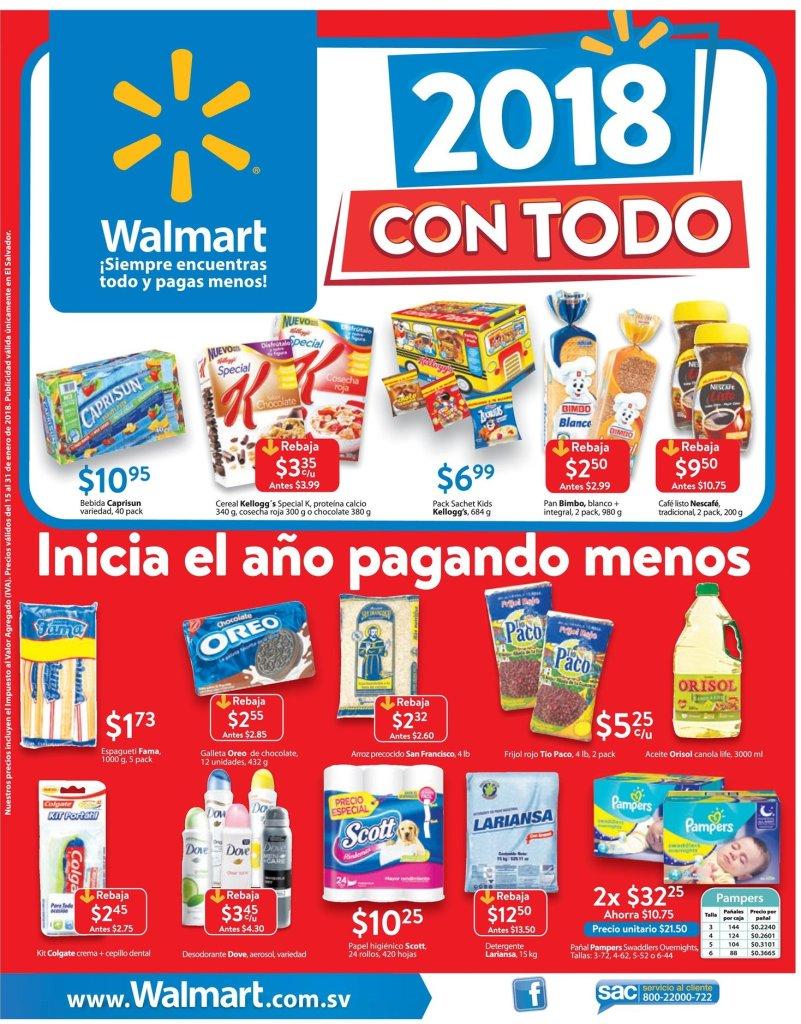 Inicia el año y semana pagando menos en el super - WALMART