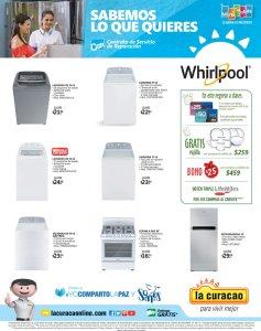 La Curacao Electrodomesticos WHIRPOOL ofertas de Enero 2018
