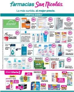 Los mejores precios en medicinas SAN NICOLAS enero 2018
