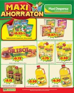 ORISOL con ofertas de ahorro maxi despensa - 31ene18