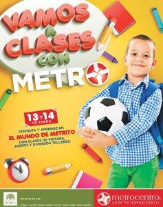 Vamos a clases con metro centro el salvador 2018