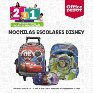 mochilas escolares disney 2018 promociones office depot
