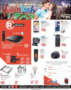 Happy VALENTINE technology deals radioshack SV