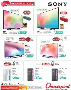 OMNISPORT promociones de vista y pantallas SONY