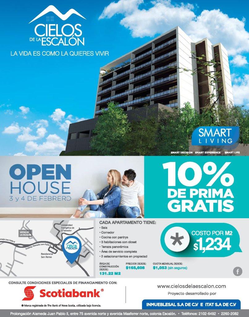 SMART LIVING open house cielos de la escalon apartments
