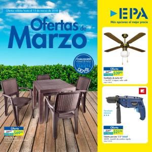 Catalogo de ofertas MArzo 2018 ferreteria epa el salvador