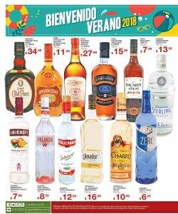 La bienvenida del verano 2018 en super selectos en bebidas