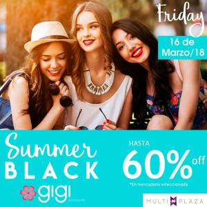 Multiplaza Shopping Night 16 Marzo - GIGI accesories for summer